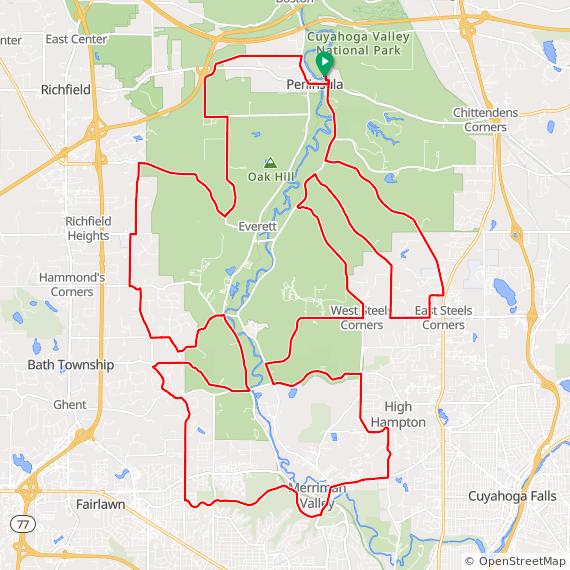 Peninsula - Medium Hill Climb Challenge on Ride With GPS