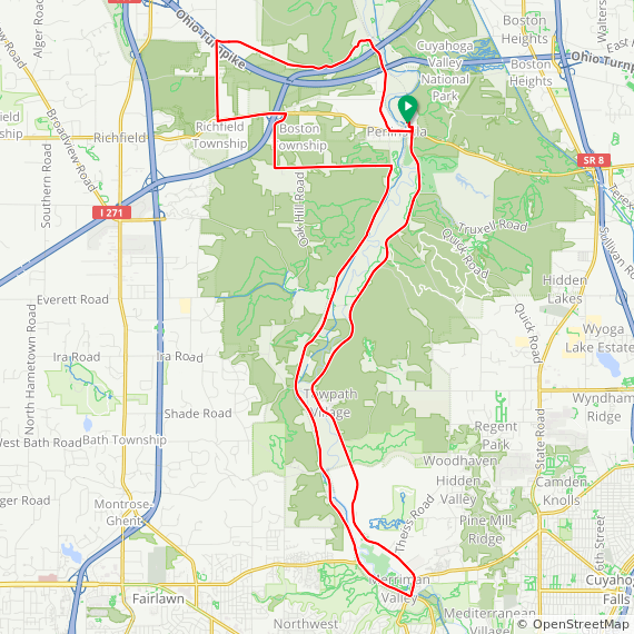 Peninsula - Valley Loop Plus on Ride With GPS