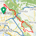 Map image of a Route from September  4, 2015