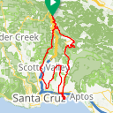 Map image of a Route from September 10, 2015