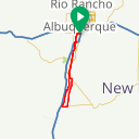 Map image of a Route from September 11, 2015