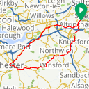 Map image of a Route from September 12, 2015