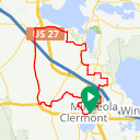 Map image of a Route from September 15, 2015
