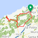 Map image of a Route from September 19, 2015