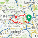 Map image of a Route from September 25, 2015