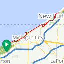 Map image of a Route from October  7, 2015