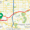 Map image of a Route from April 12, 2012
