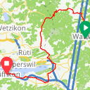 Map image of a Route from October 23, 2015