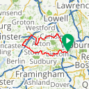 Map image of a Route from October 30, 2015