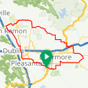 Map image of a Route from November  5, 2015