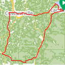 Map image of a Route from November  9, 2015