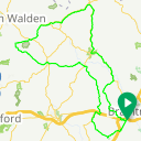Map image of a Route from November 16, 2015