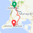 Map image of a Route from December 23, 2015