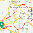 Map image of a Route from December 27, 2015