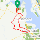 Map image of a Route from December 29, 2015
