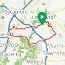 Map image of a Route from December 30, 2015