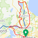 Map image of a Route from January  8, 2016