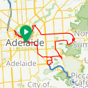 Map image of a Route from January 19, 2016