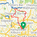 Map image of a Route from February  8, 2016