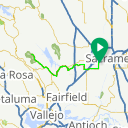 Map image of a Route from February 20, 2016