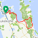 Map image of a Route from March  2, 2016
