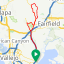Map image of a Route from March  6, 2016