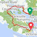 Map image of a Route from March 17, 2016