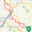 Map image of a Route from March 20, 2016