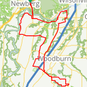 Map image of a Route from April  3, 2016