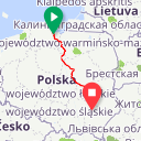 Map image of a Route from June 11, 2012