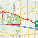 Map image of a Route from April 11, 2016