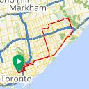 Map image of a Route from April 17, 2016