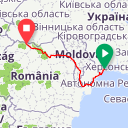 Map image of a Route from April 30, 2016