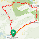 Map image of a Route from May  2, 2016