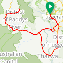 Map image of a Route from May  5, 2016