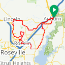 Map image of a Route from May 12, 2016