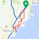 Map image of a Route from May 16, 2016