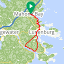 Map image of a Route from May 20, 2016