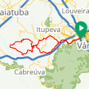 Map image of a Route from May 21, 2016