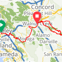 Map image of a Route from May 23, 2016
