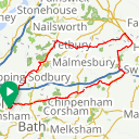 Map image of a Route from May 27, 2016