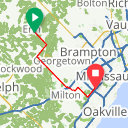 Map image of a Route from June  2, 2016