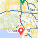 Map image of a Route from August 10, 2010