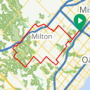 Map image of a Route from June 18, 2016