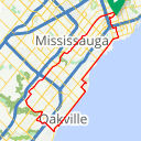 Map image of a Route from June 22, 2016