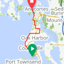 Map image of a Route from July 13, 2016