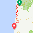 Map image of a Route from August 15, 2016