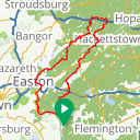 Map image of a Route from August 16, 2012