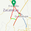 Map image of a Route from August 26, 2016