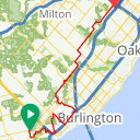 Map image of a Route from September  2, 2016
